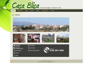 casaelisa.com screenshot