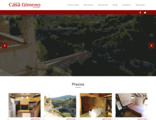 casagimeno.net screenshot