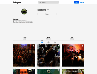 casajaya.com.br screenshot