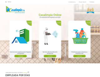casalimpia.co screenshot