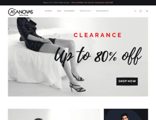 casanovasitalianshoes.com.au screenshot