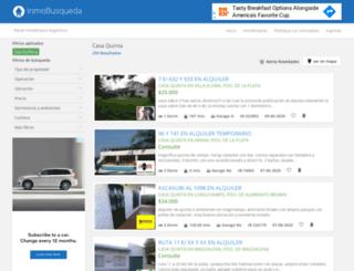 casaquinta.inmobusqueda.com.ar screenshot