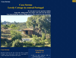 casaserena-portugal.com screenshot