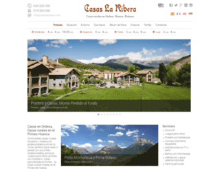 casaslaribera.com screenshot