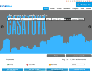 casatuya.es screenshot