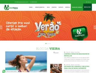 casavieira.com.br screenshot
