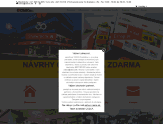 casca.sk screenshot