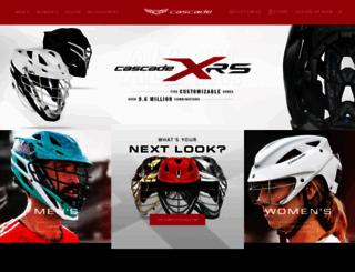 cascadelacrosse.com screenshot