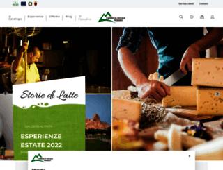 caseificioprimiero.com screenshot