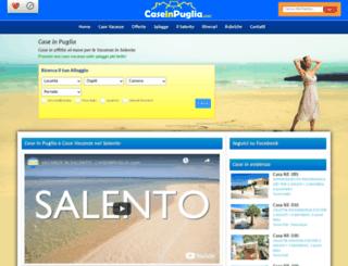 caseinpuglia.com screenshot