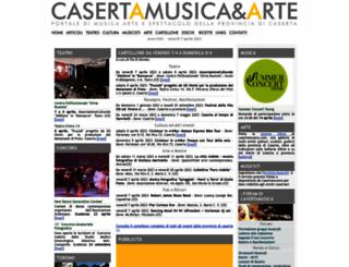 casertamusica.com screenshot