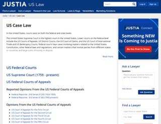 cases.justia.com screenshot
