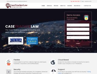 casetrackerlaw.com screenshot
