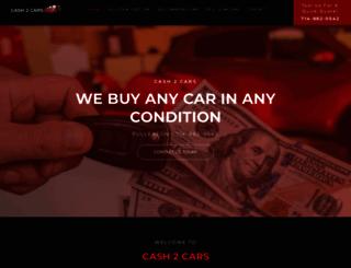 cash2cars.com screenshot