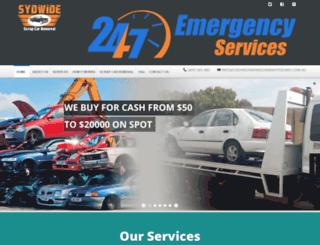 cash4scrapandunwantedcars.com.au screenshot