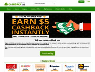 cashbackzilla.com screenshot