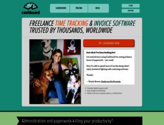 cashboardapp.com screenshot