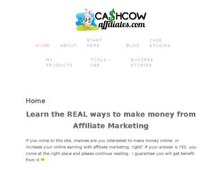 cashcowaffiliates.com screenshot
