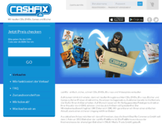 cashfix.de screenshot