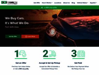 cashforcars.com screenshot