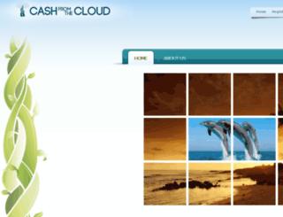 cashfromthecloud.com screenshot