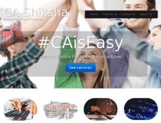 cashiksha.com screenshot