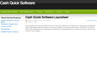 cashquicksoftware.com screenshot
