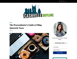 cashvilleskyline.com screenshot