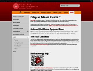casit.ilstu.edu screenshot