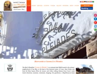 casona-pleiades.com screenshot