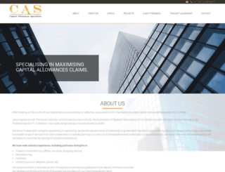 caspecialists.co.za screenshot