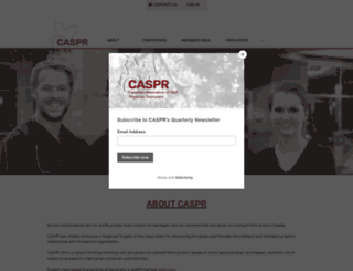 caspr.ca screenshot