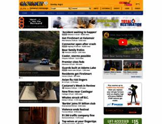 castanet.net screenshot