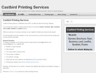 castbird-printing.blogspot.com screenshot