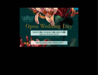 castelloducale.com screenshot
