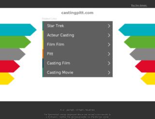 castingpitt.com screenshot