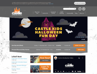 castle-climbing.co.uk screenshot