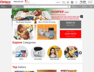 castlehampers.com.au screenshot