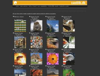castlib.dk screenshot