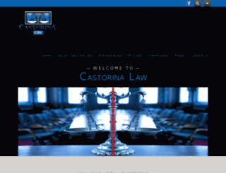 castorinalaw.com screenshot