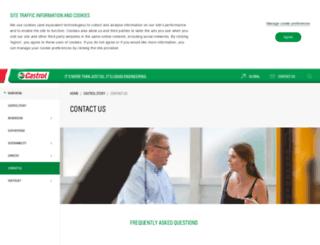 castrolprofessional.co.uk screenshot
