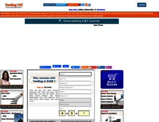 cat.testbag.com screenshot
