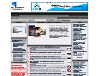 catadjuster.net screenshot