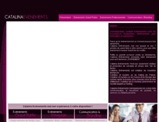 catalina-evenements.fr screenshot