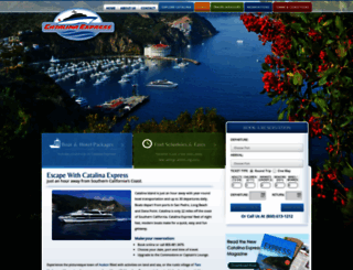 catalinaexpress.com screenshot
