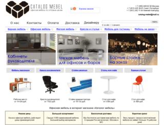 catalog-mebel.ru screenshot