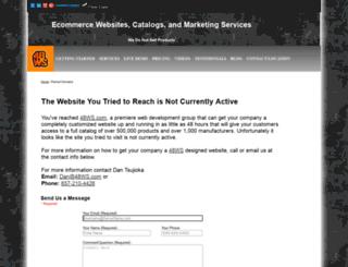 catalog.ahharris.com screenshot