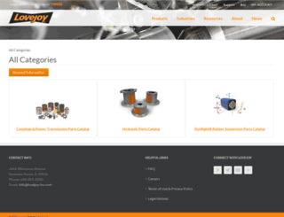 catalog.lovejoy-inc.com screenshot