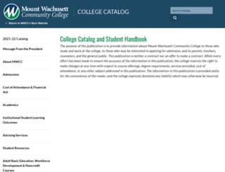 catalog.mwcc.edu screenshot