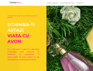 catalogavon.com screenshot